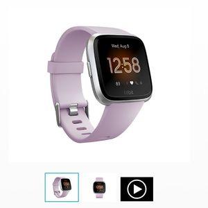 Fitbit Versa lite lilac excellent condition